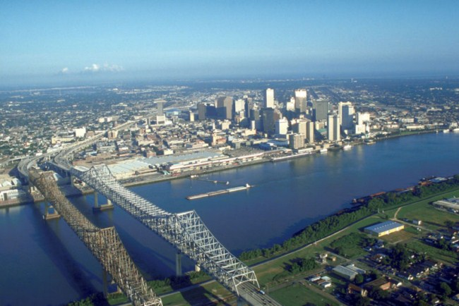 Ruta turística por Nueva Orleans