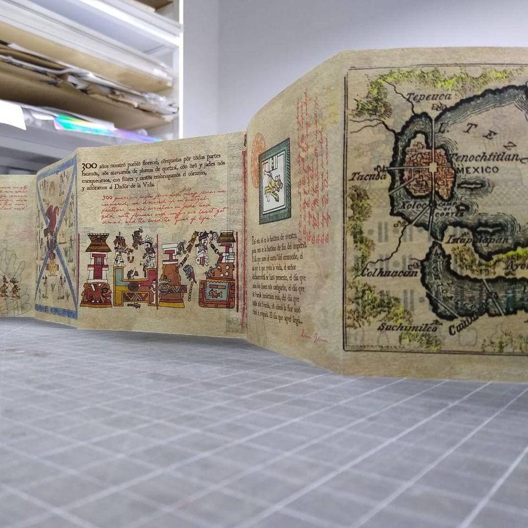 codice azteca fundación de Tenochtitlán