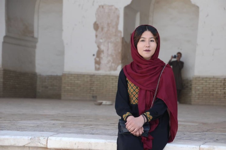 Fátima, guía de Turistas en Afganistán