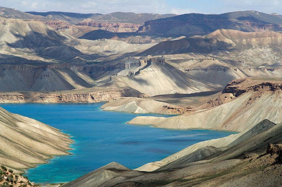 Lagos azules de Bande Amir