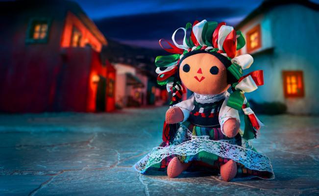 Muñeca artesanal de Querétaro