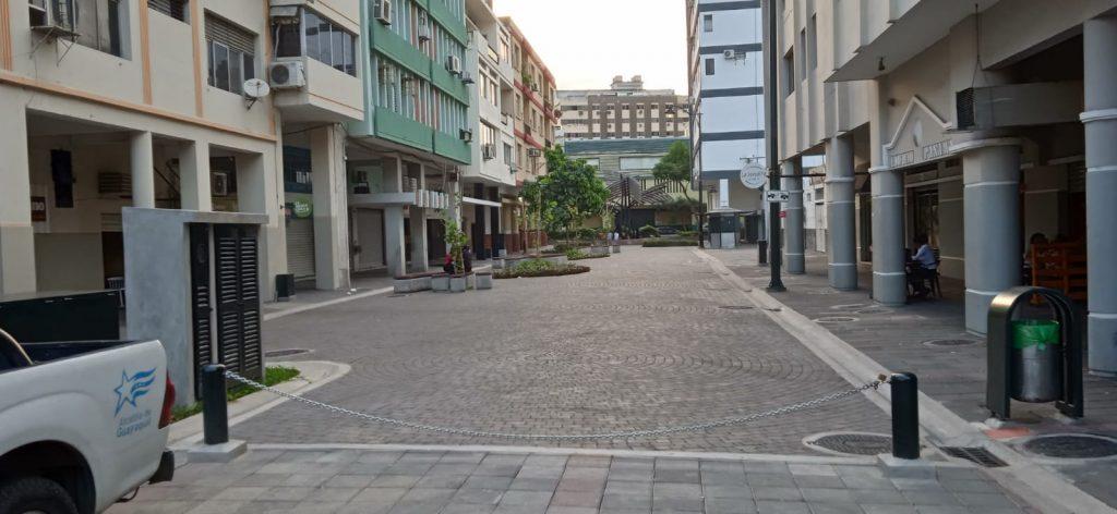 Calle Panamá en Guayaquil